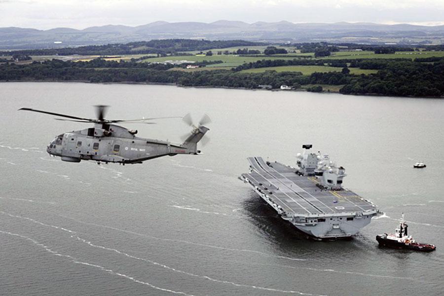 """Авианосец """"Королева Елизавета"""" ВМС Великобритании"""