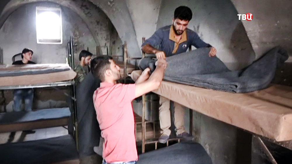 Новобранцы в Сирийской армии