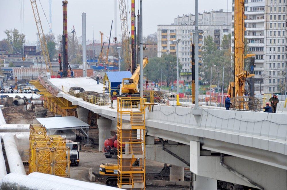 Ход работ по строительству Северо-Восточной хорды