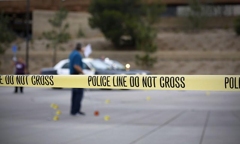 Полиция США на месте происшествия