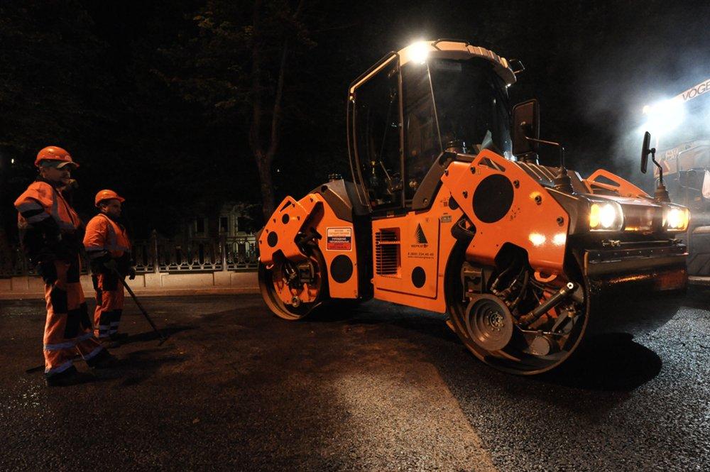 Финальный этап работ по капитальному ремонту проезжей части Бульварного кольца