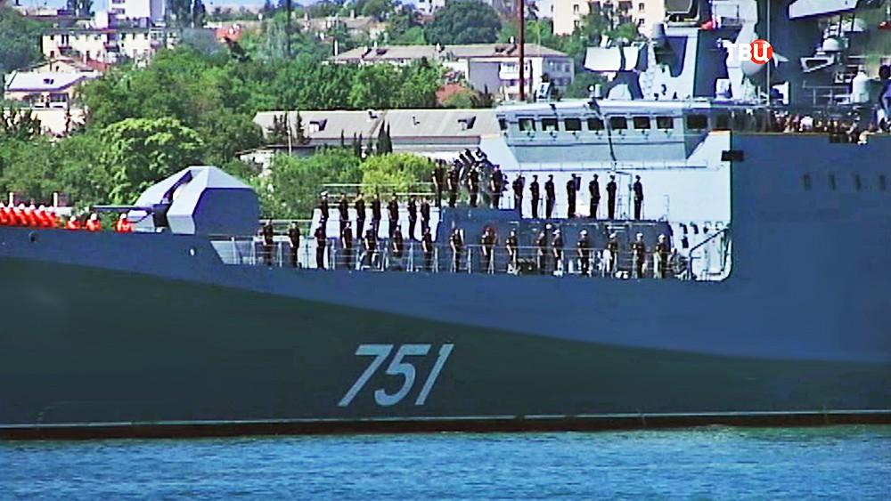 """Команда фрегата """"Адмирал Эссен"""""""
