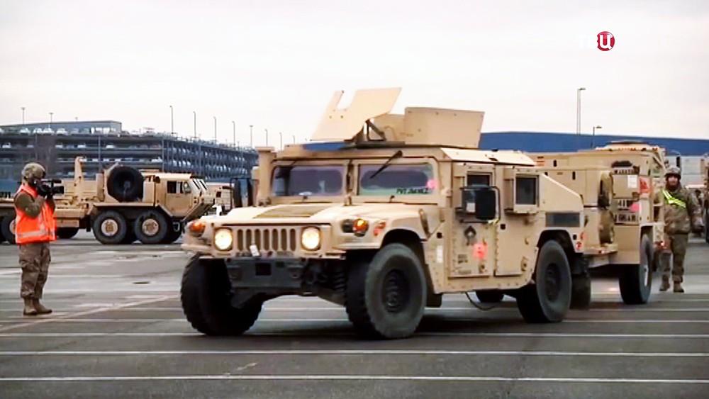 Военная техника армии США в Польше
