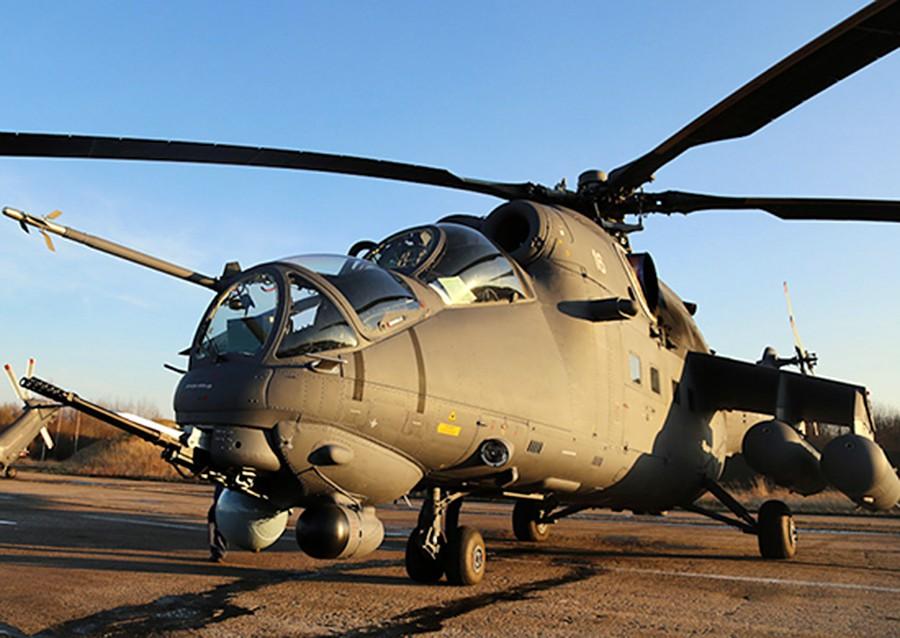 Вертолёт Ми-35