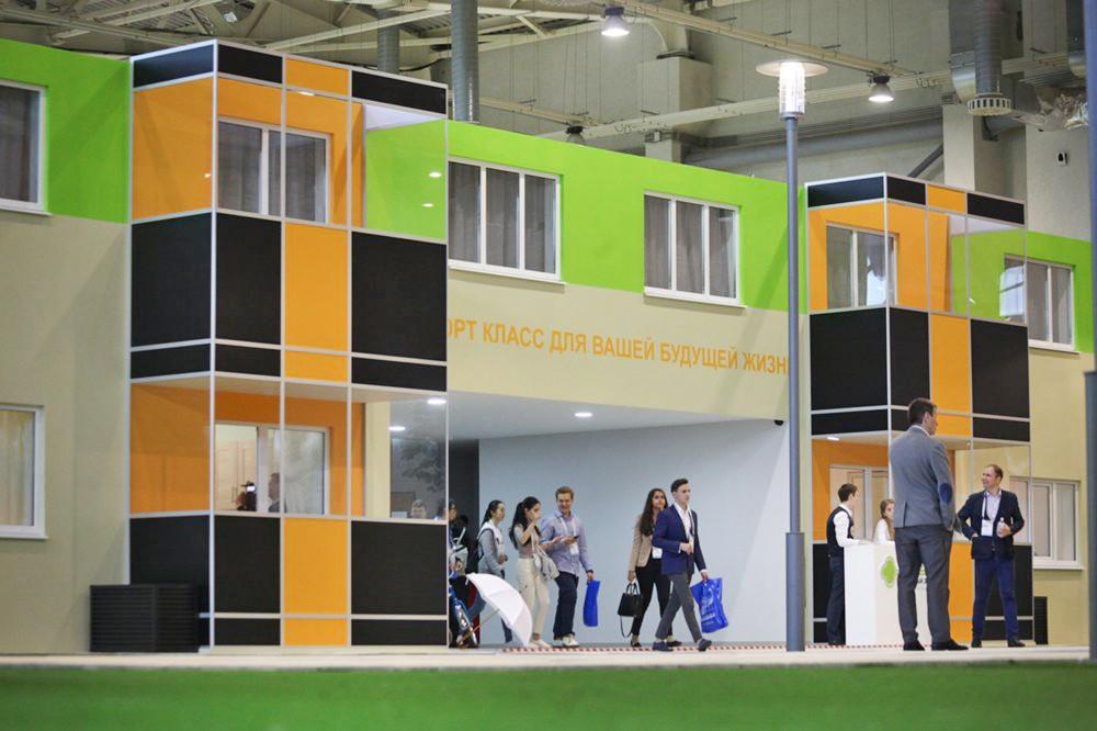 Шоу-рум по программе реновации, открытый на Московском урбанистическом форуме