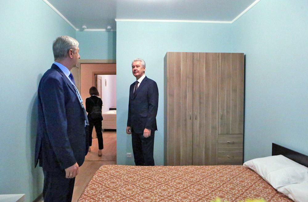 Сергей Собянин посетил шоу-рум по программе реновации