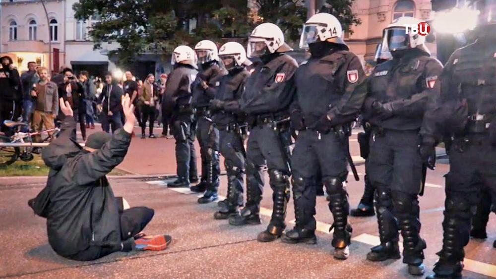 Акции протеста в преддверии саммита G20
