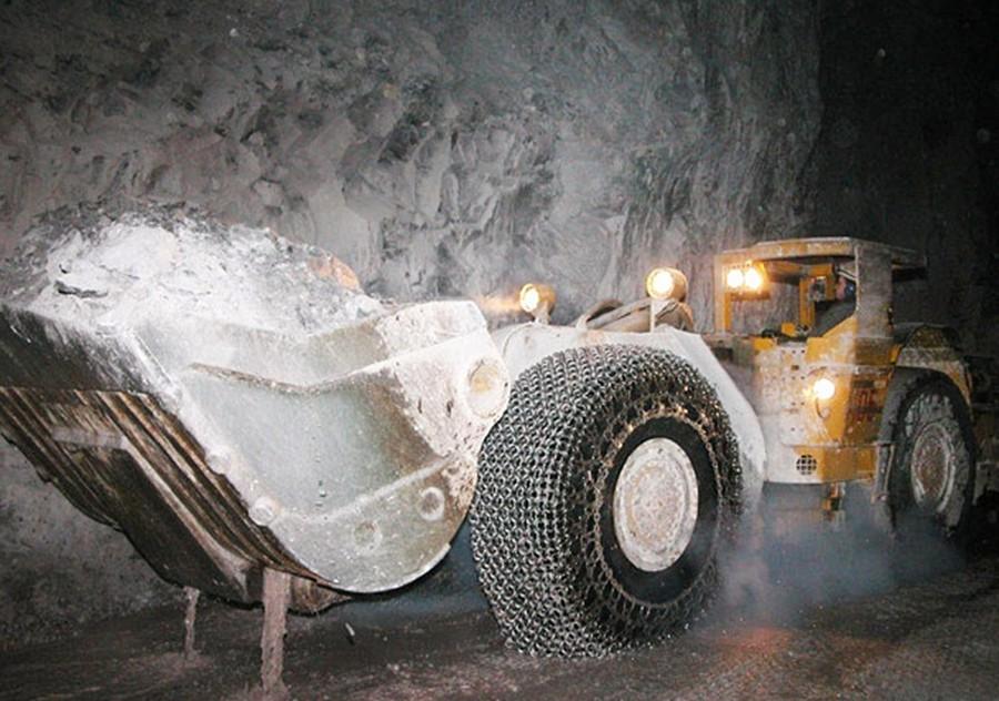 Работа в шахте