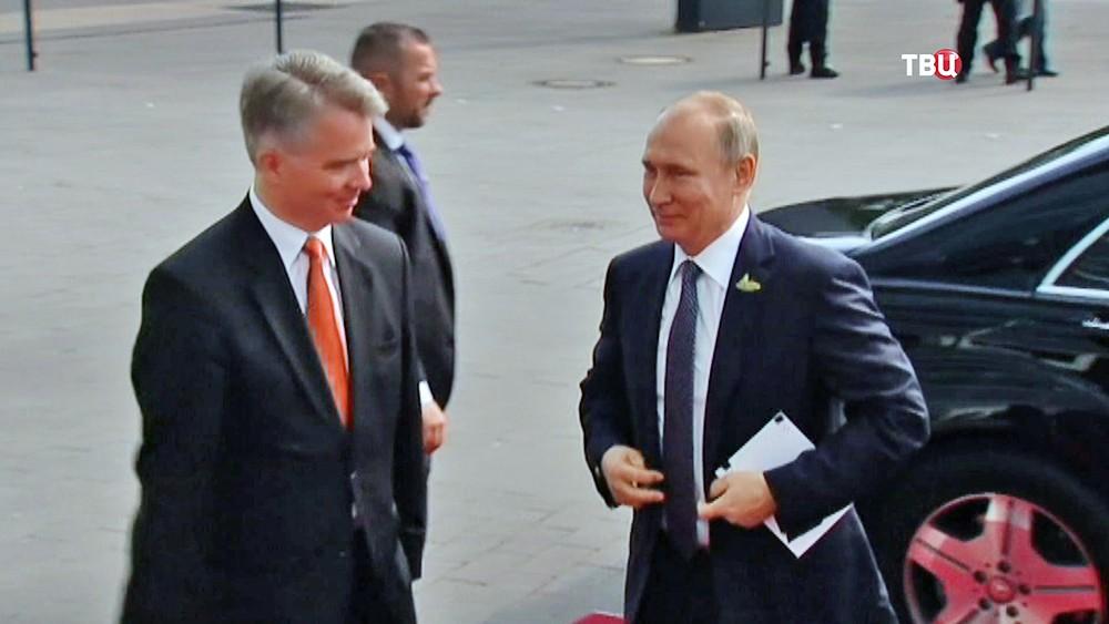 Президент России Владимир Путин прибыл на саммит G20