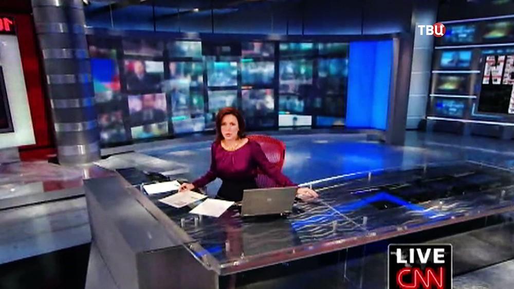 Студия американского телеканала СМИ