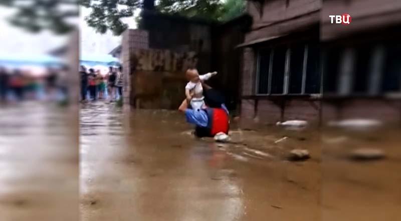 Наводнение в Китае