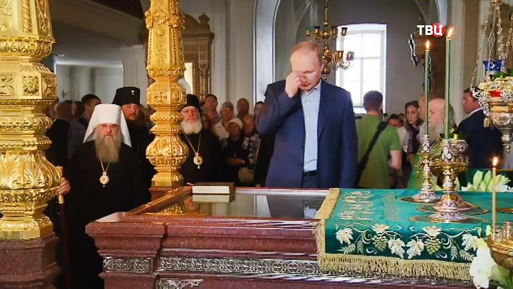 Владимир Путин посетил Валаамский монастырь