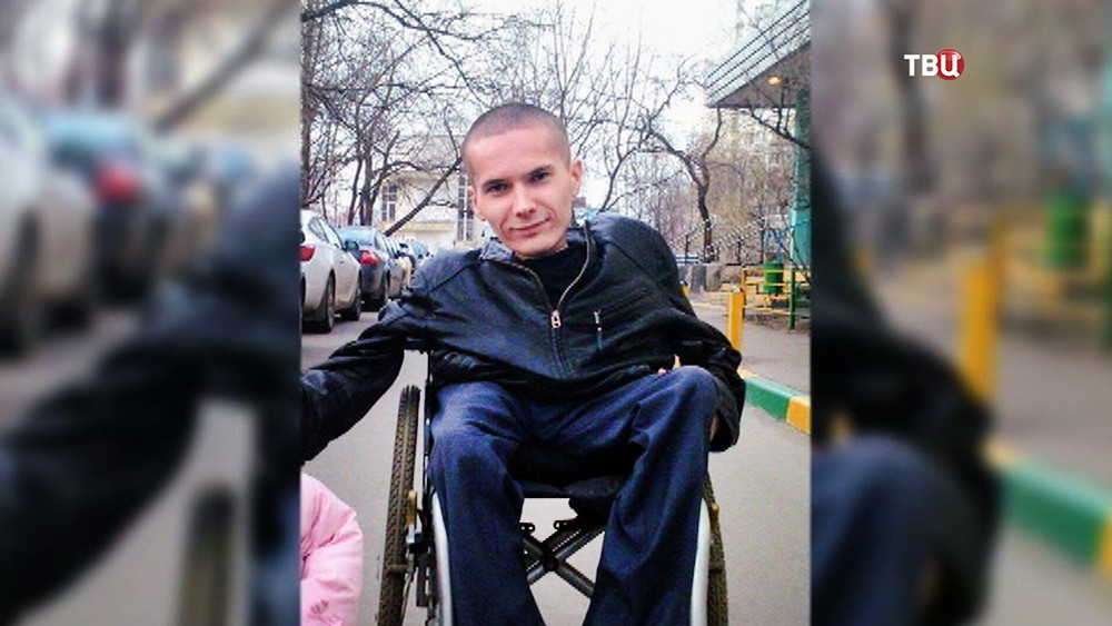 Инвалид первой группы Антон Мамаев
