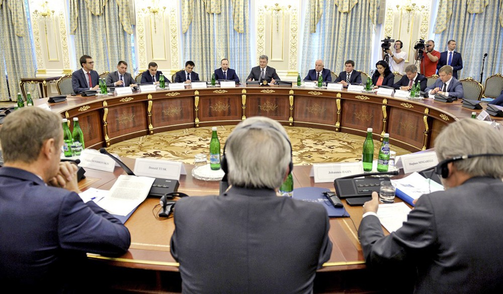 Саммит ЕС — Украина