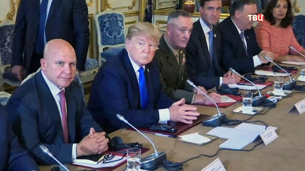 Визит Донольда Трампа во Францию