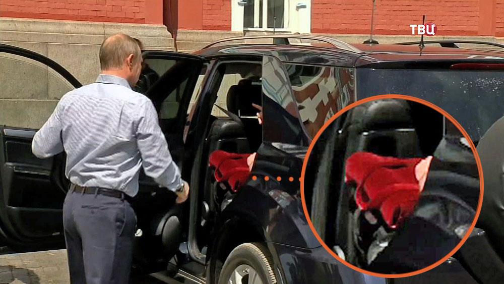 Президент России Владимир Путин на Валааме