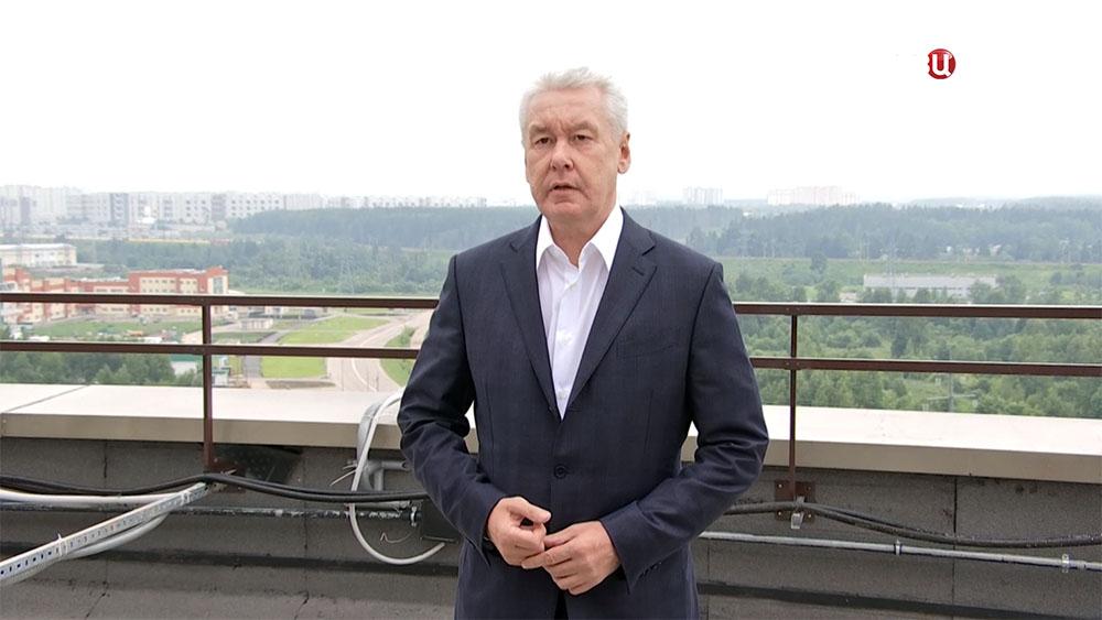 Сергей Собянин в Зеленограде