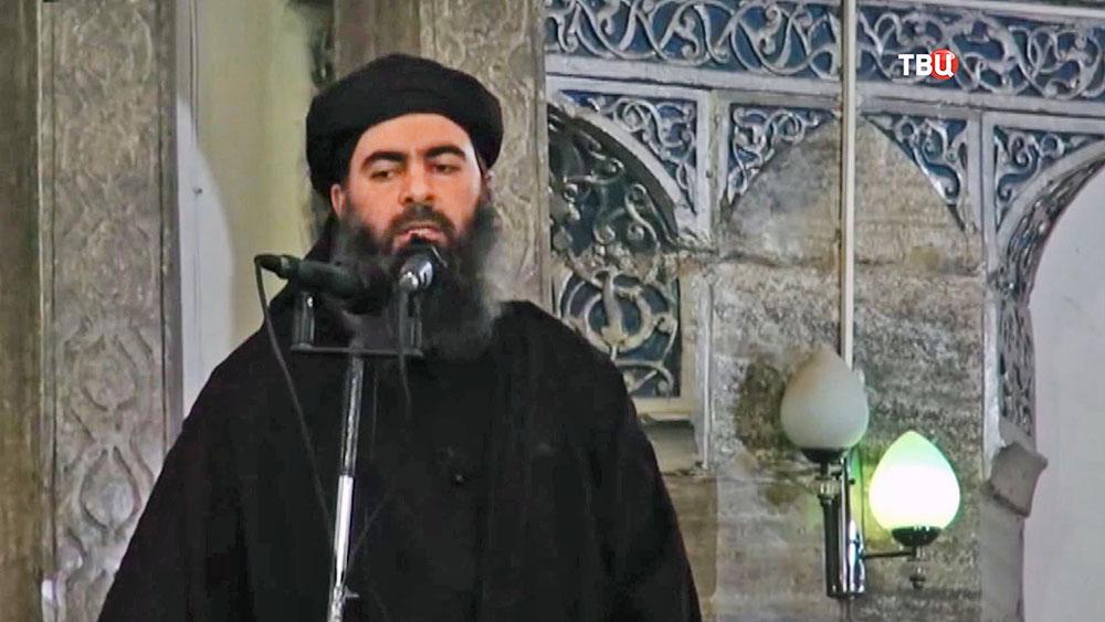 Лидер террористической организации ИГ Абу Бакр аль-Багдади