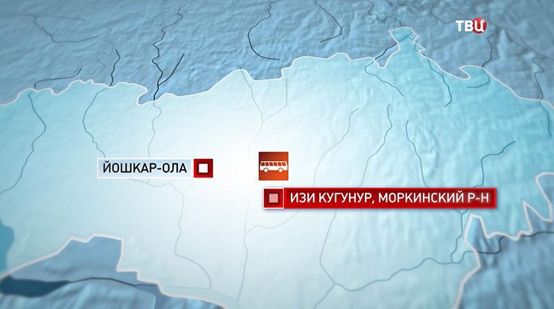 ДТП в Республике Марий Эл