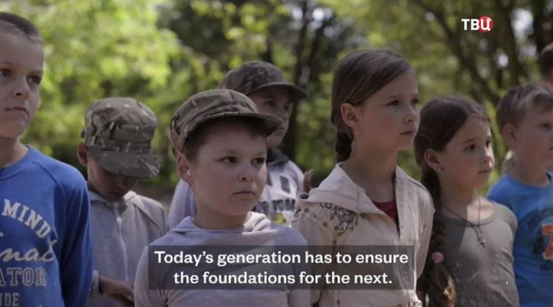 """Документальный фильм телеканала NBC о лагере """"Азов"""""""