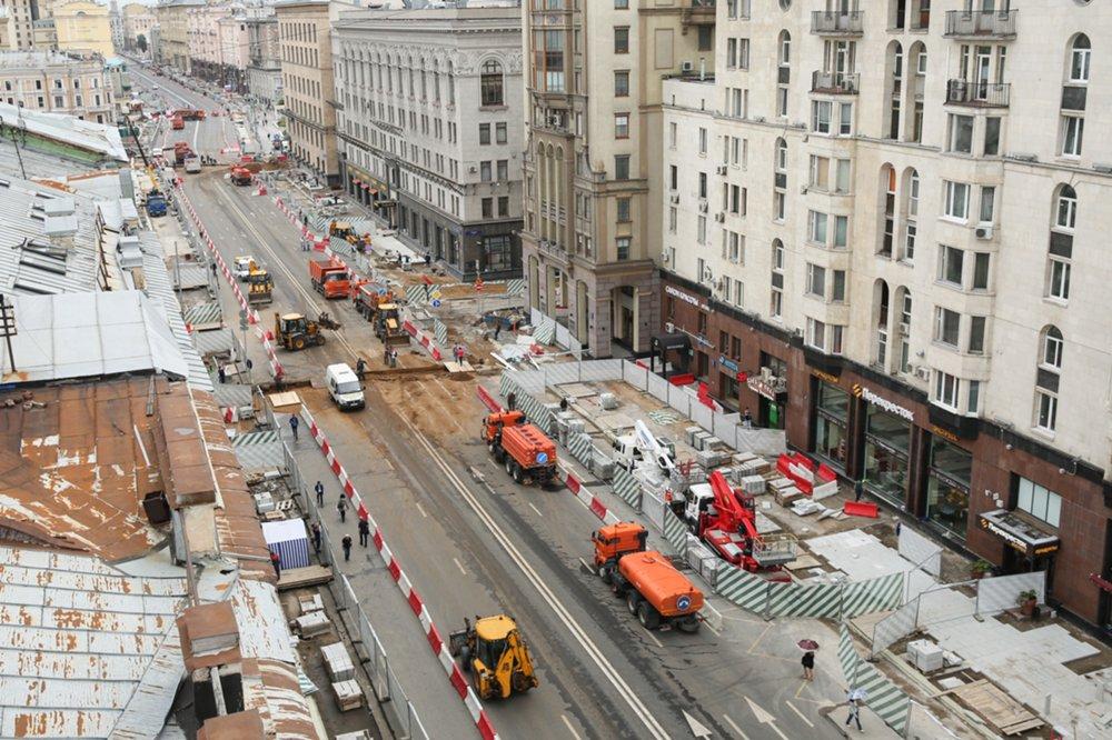Тверская-Ямская улица в Москве