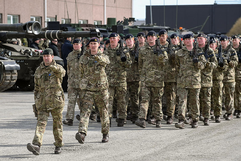 Солдаты Великобритании