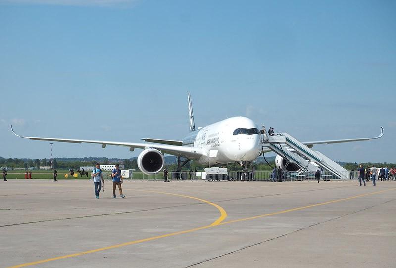 Airbus A350 на МАКС - 2017