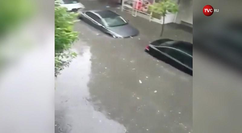 Потоп в Стамбуле