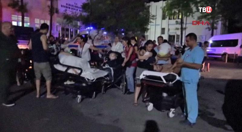 Землетрясение на греческом острове Кос