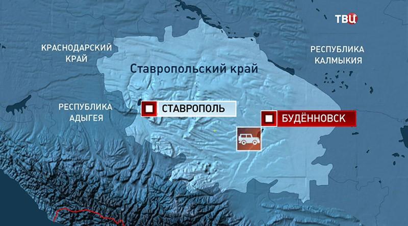 ДТП в Ставрополье