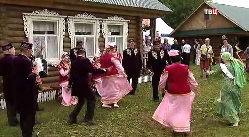 """Праздник Сабантуй в """"Коломенском"""""""