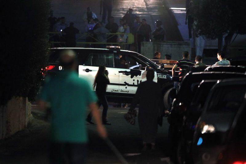 На месте происшествия в Иордании