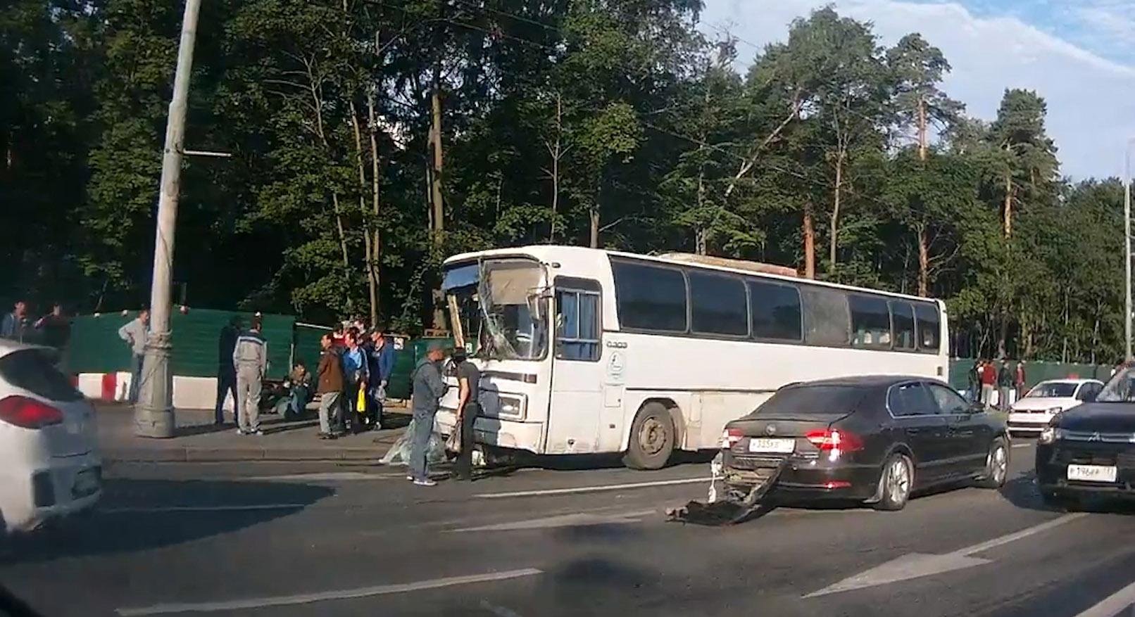 ДТП с участием автобуса