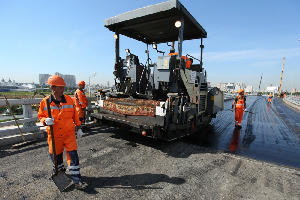 Ход реконструкции участка Щелковского шоссе