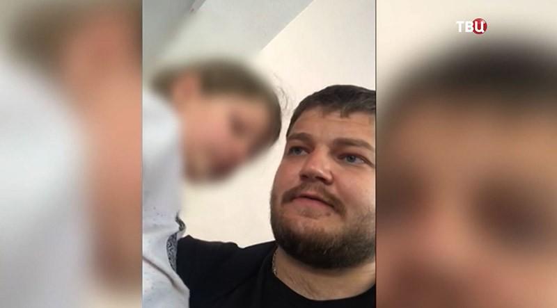 Сергей Уханов и его дочь Лиза