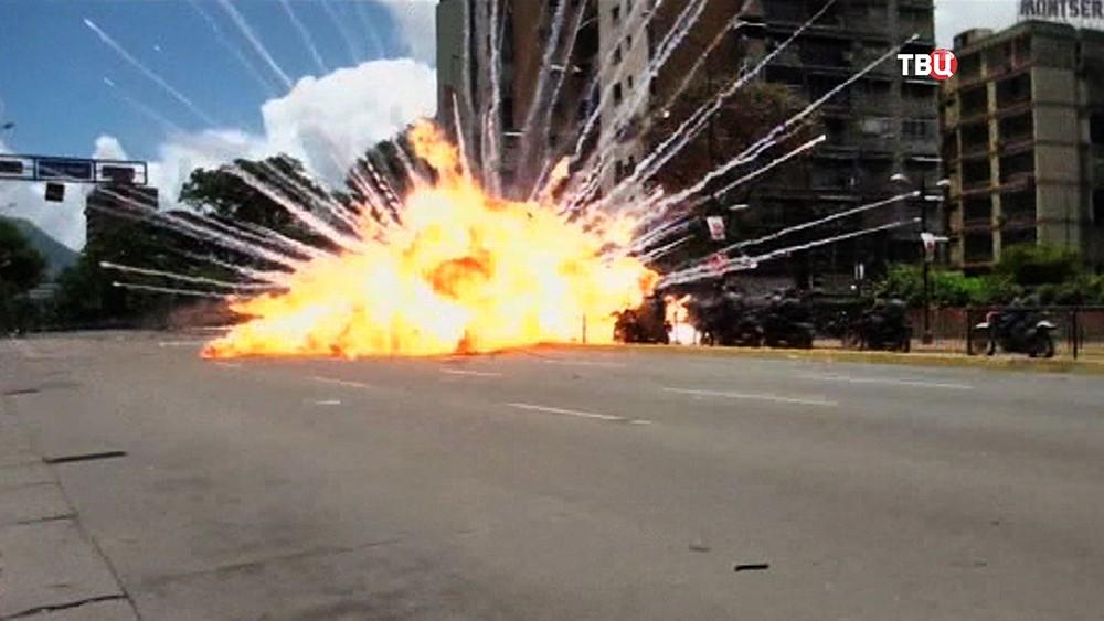 Взрыв в Венесуэле