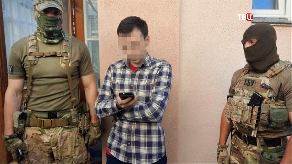 Задержанный СБУ украинский журналист Василий Муравицкий
