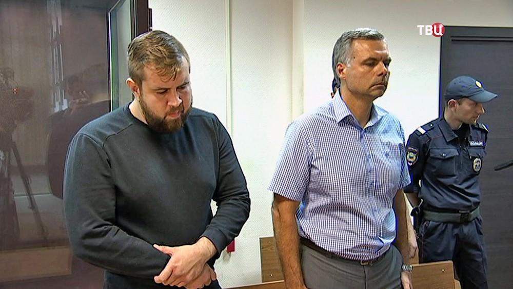 Задержанный Александр Орлов, который ударил корреспондента НТВ