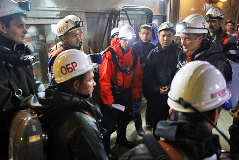 Спасательная операция в шахте