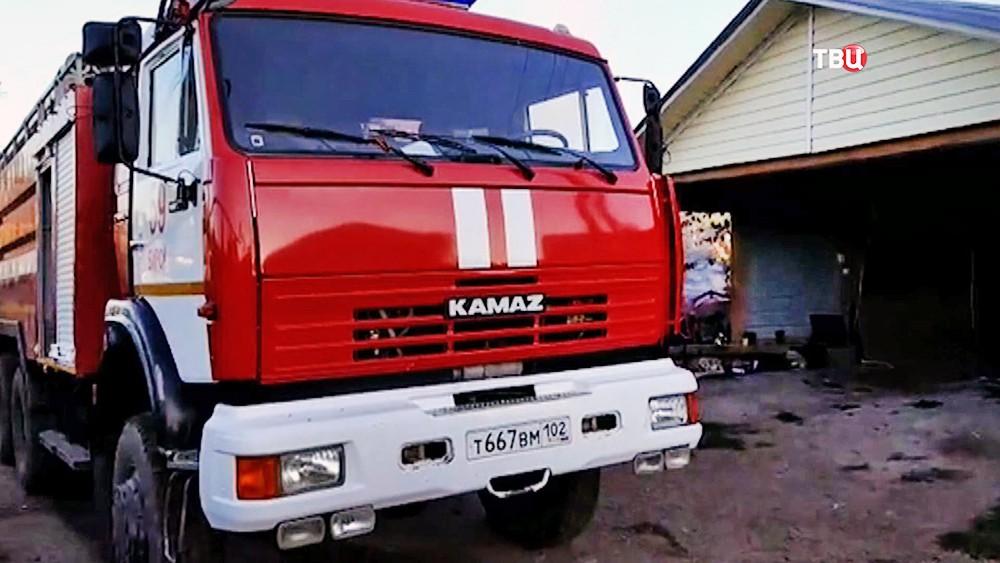 Пожарная машина в республике Башкортостан