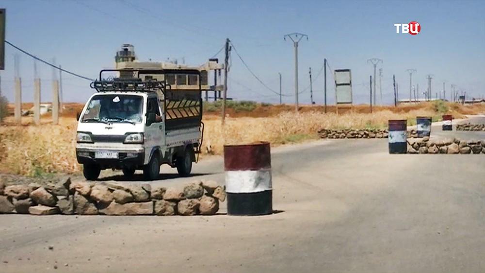 Дорога в Сирии
