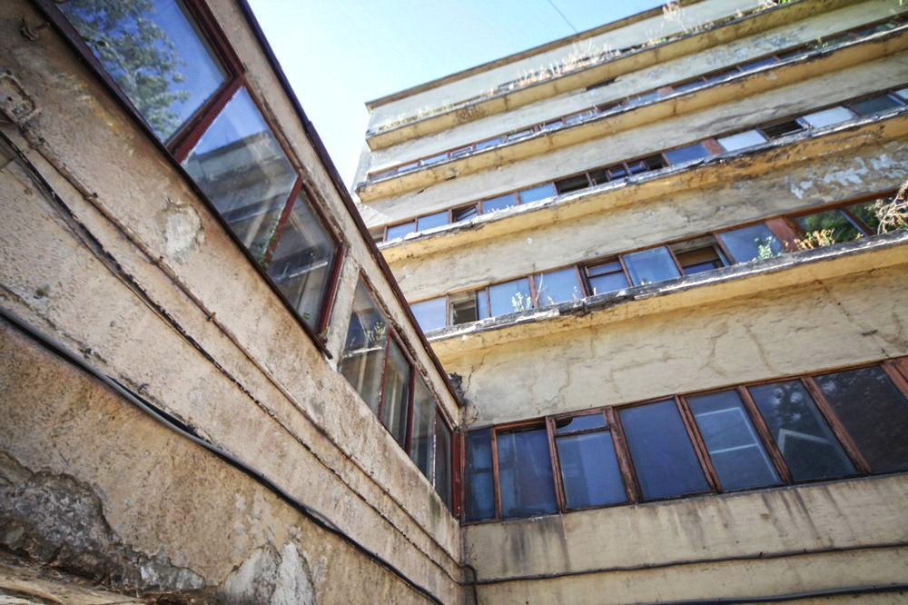 Реставрация Дома Наркомфина