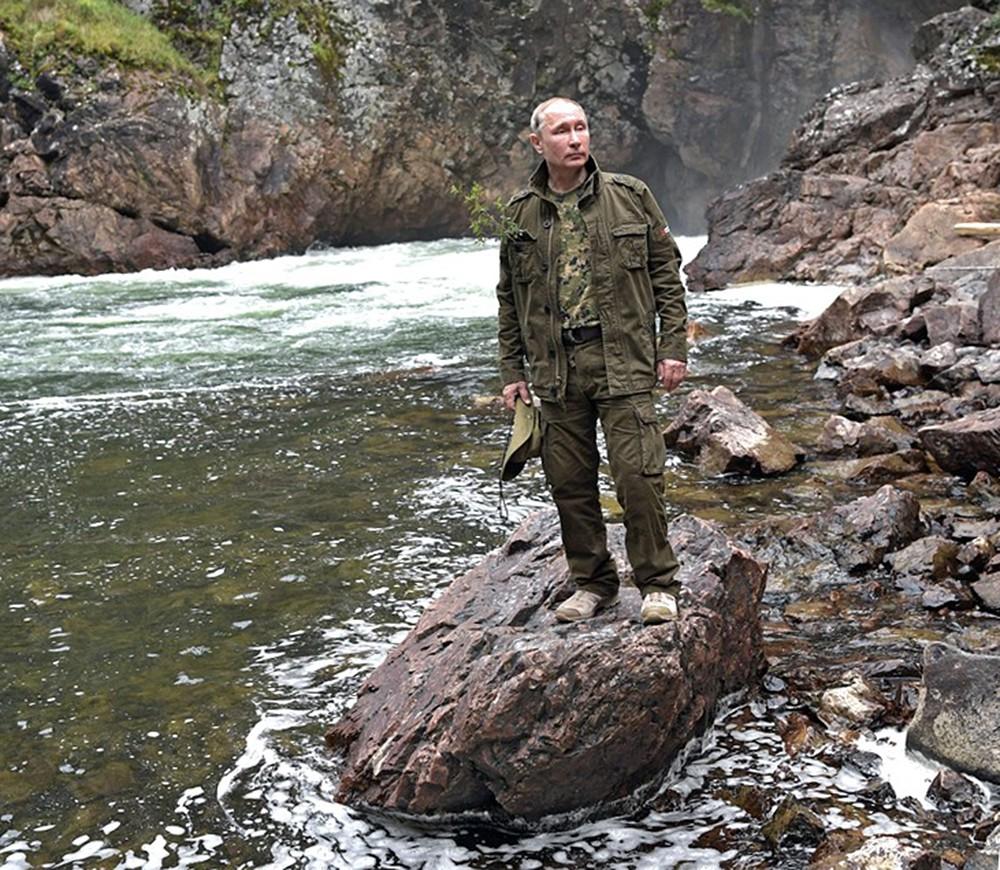 Владимир Путин отдыхает в Республике Тыва