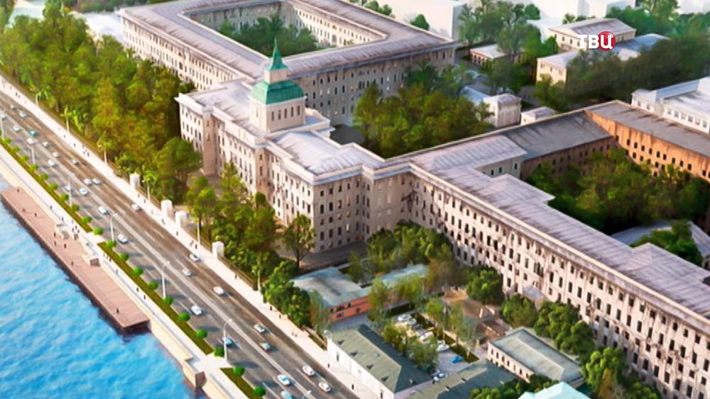 """Проект развития комплекса исторических зданий около """"Зарядья"""""""