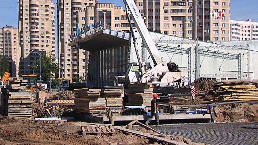 Реконструкция площади Юности в Зеленограде
