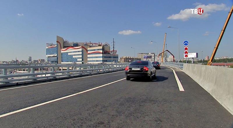 Эстакада на развязке СВХ с Щёлковским шоссе