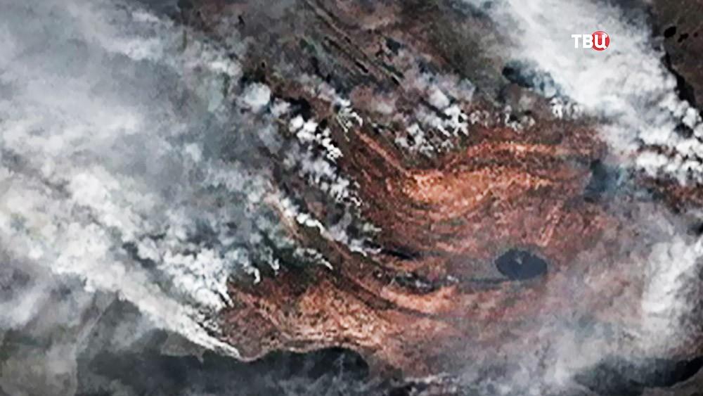 Пожар в Гренландии