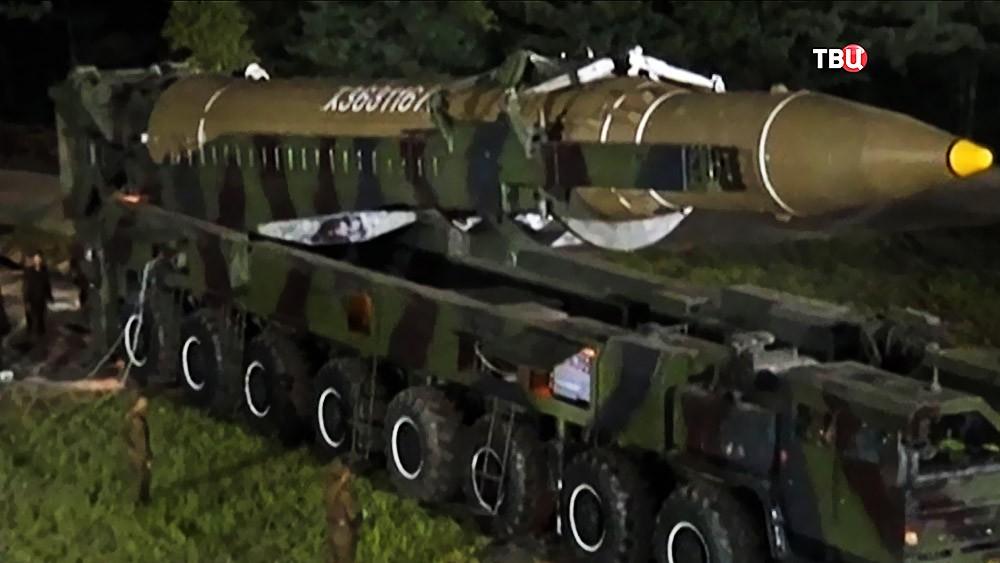Ракетный комплекс КНДР