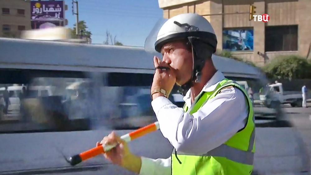 Инспектор ГАИ в Алеппо