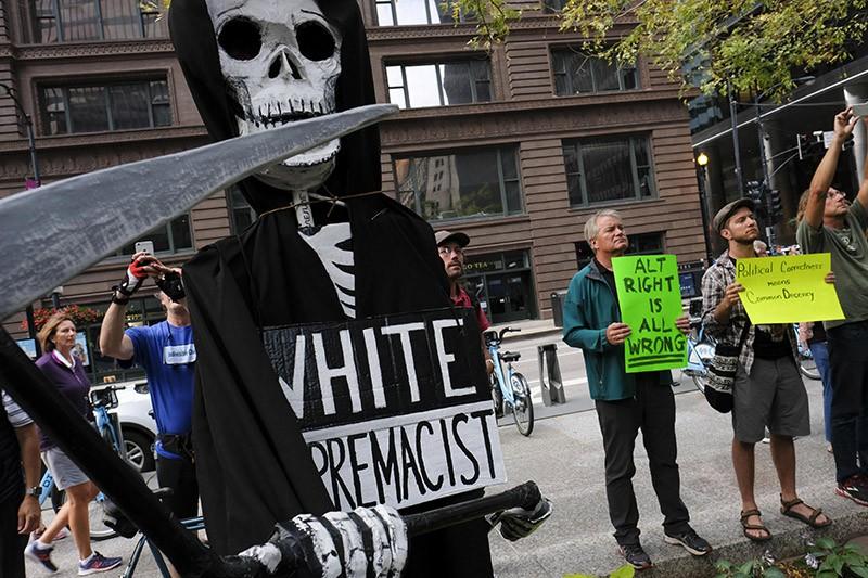 Протесты в США